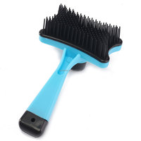 Convenient Push Pet Fur Hair Shedding Grooming Dog C-at Rake Comb Brushes Trimmer Tools Pet Accessory