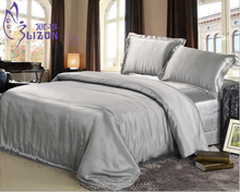 100% pure mulberry silk bed sheet/Luxury silk sheet/bedding sets