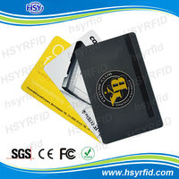China HSY Manufacturer provide low costs RFID plastic card protector