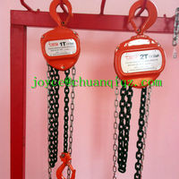Hand operated KITO manual chain pulley block/chain hoist