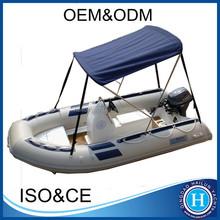 3.8M fiberglass boat rib