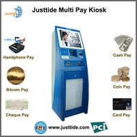 Justtide Self-Service Payment kiosk