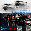 LW new design led ghost shadow car logo light for Mercedes auto