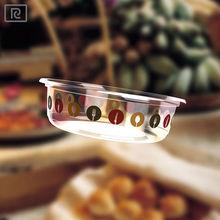R- PLA diposable plastic container food bowl 8oz/ 240 ml/ salad/ food/yogurt/fruit/sauce