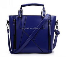 Leather European and American style shoulder fashion handbag