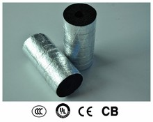 Rubber flex insulation pipe for steam pipes insulation