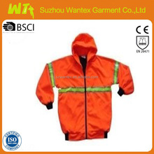 high visibility all weather jacket for men meets EN343
