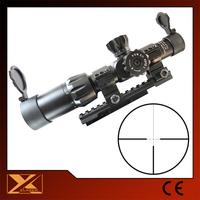 1-6X24 Reticle illuminated rifle scope