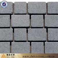 10x10cm Dark Grey Granite Patio Paver