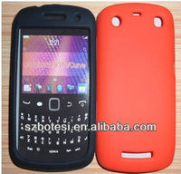 Silicone candy color case for Blackberry 9360
