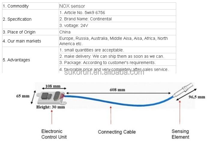 Uninox Sensor For Bus 5wk9 6756 Buy Uninox Sensor For