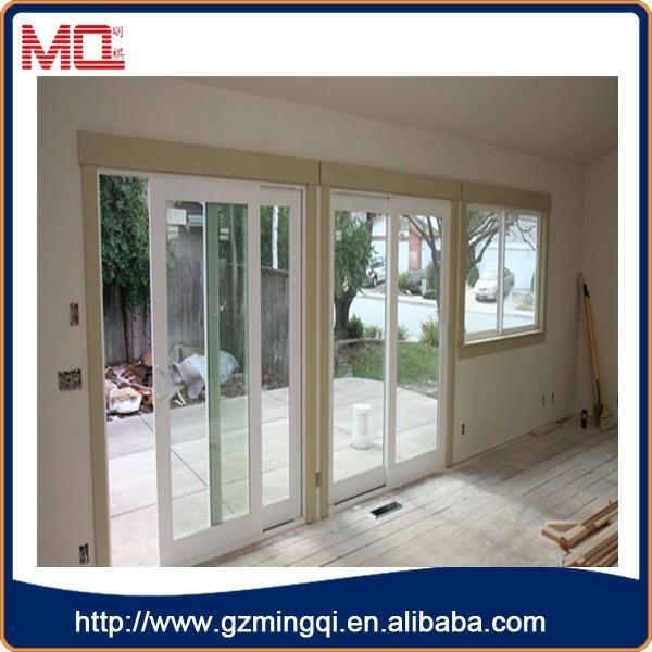 Cheap sliding flexible internal doors pvc interior sliding for Cheap pvc door