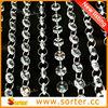 decorative room divider octagon shape clear crystal beaded curtain S0661