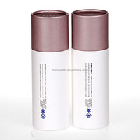 Recyclable empty cardboard canister for cosmetics packing