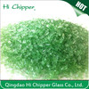 light green terrazzo colored decorative glass chips