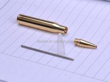 Customized Brass Bullet pen with cross refill