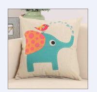 Chinese manufacturer cheap wholesale linen cotton latest design plain square pillow covers