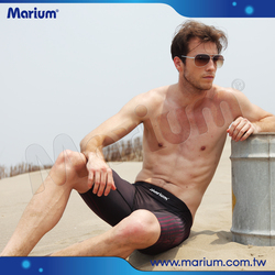 Quick Dry Fashionable Racing Swimwear For Men Sport Jammer Shorts