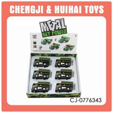 Hot selling kid musical military diecast models with light for sale