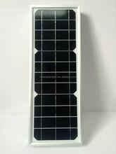 High Efficiency best price per watt solar panels 25w poly