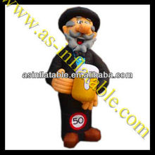 super hot selling !!! human inflatable model for sales/custom inflatable model