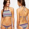 beach fabric extreme & elegant ladies sexy bikini custom made swimwear