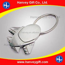 Custom LOGO design metal name sublimation blank keychain/keyring for wholesale