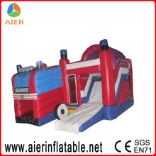 fire engine inflatable castle fire engine inflatable bouncy castle boys inflatable castle
