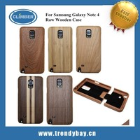 Pure natural Bamboo case for galaxy note 4, wood case for samsung galaxy note 4