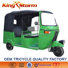 2015 OEM available Bajaj passenger three wheels tricycle/ taxi tuk tuk motorcycles with side doors/bajaj auto taxi tricycle