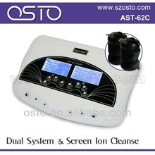 New model/dual ion detox foot spa with arrays