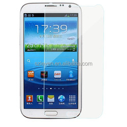 100% Real Glass tempered screen protector film for samsung galaxy Note2 N7100 0.3mm 2.5D curved edge