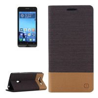 Leather Wallet Case Flip Cover for ASUS ZenFone 5 with Card Slots