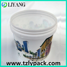 Heat transfer, heat transfer film for plastic, bucket and pail, art, iml, mood of life