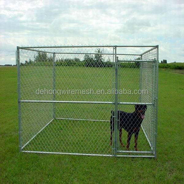 Grande modulaire ext rieure chenil pour chien fer cl ture chien chenil chien chenil cl ture for Cloture jardin pour chien