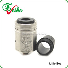 My alibaba com best selling products bulk buy from china top caps little boy atomizer carbon fiber little boy little boy rda