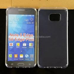 Super Thin TPU Cover Case For Samsung Galaxy S6 edge plus, Invisible TPU Soft Case Samsung S6 edge plus
