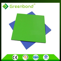 Greenbond outdoor decorative composite panel composite solid wall panel acp sheet