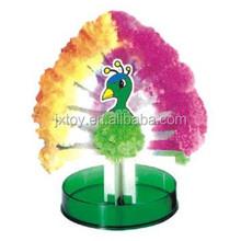 Magic Christmas DIY paper peacock toy
