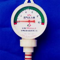 10Kpa 60mm biogas pressure gauge biogas fitting