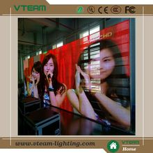 Indoor flexible curtain p10 mesh led screen