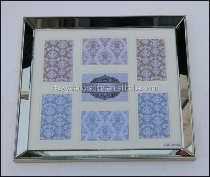 Interior decorations of mirror type picture frame ornament for Types of mirror frames