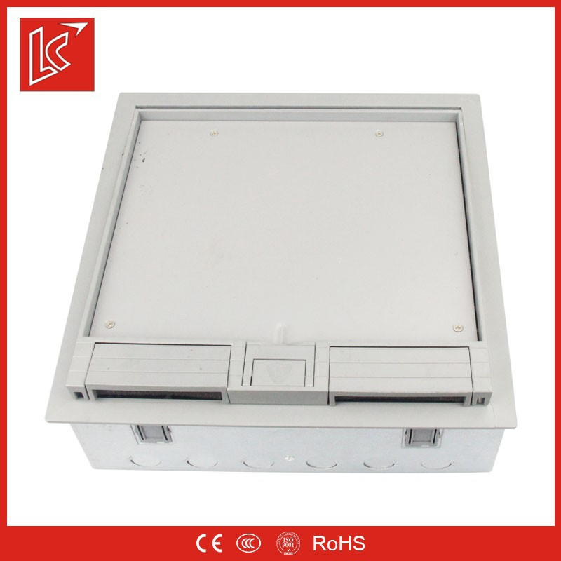Uk sockets and switchs stainless steel floor box cover