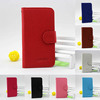 Lychee Grain Leather Flip Back Cover For Samsung Galaxy Note I9220
