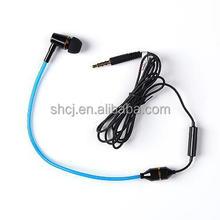mobile phone accessories Radiation free black tube headset