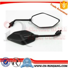 Enduro Offroad Motorcycle Parts Side Review Mirror M8 M10 M12 For Suzuki QM200GY GXT200