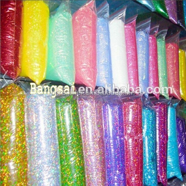 Wholesale top quality colors bulk glitter for craft for Wholesale craft supplies in bulk
