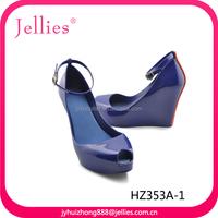 2015 Fashion PVC Sandals Ladies Shoes Wholesale