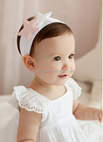 2015 New Trendy Fashion Top Baby headband/hairband with felt Star