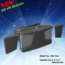 3D Glasses Virtual Reality Vr Headset Google glasses support 3.5-5.7inch smartphone